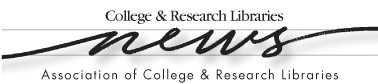 CollegeResearchLibrariesNews logo