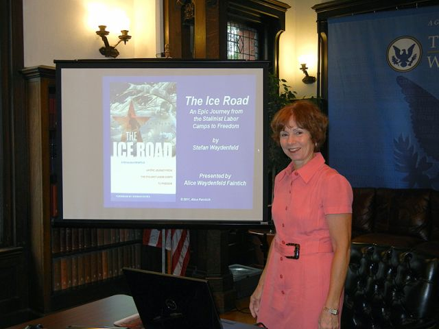 Alice Faintich at the Institute of World Politics