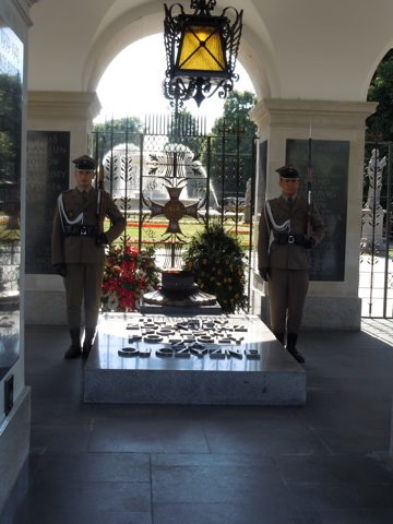 Tomb of the Unknown Soldier at the Saski Gardens